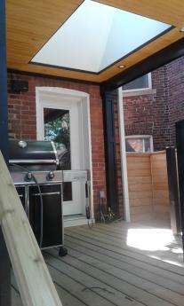 Deck with Skylight 2
